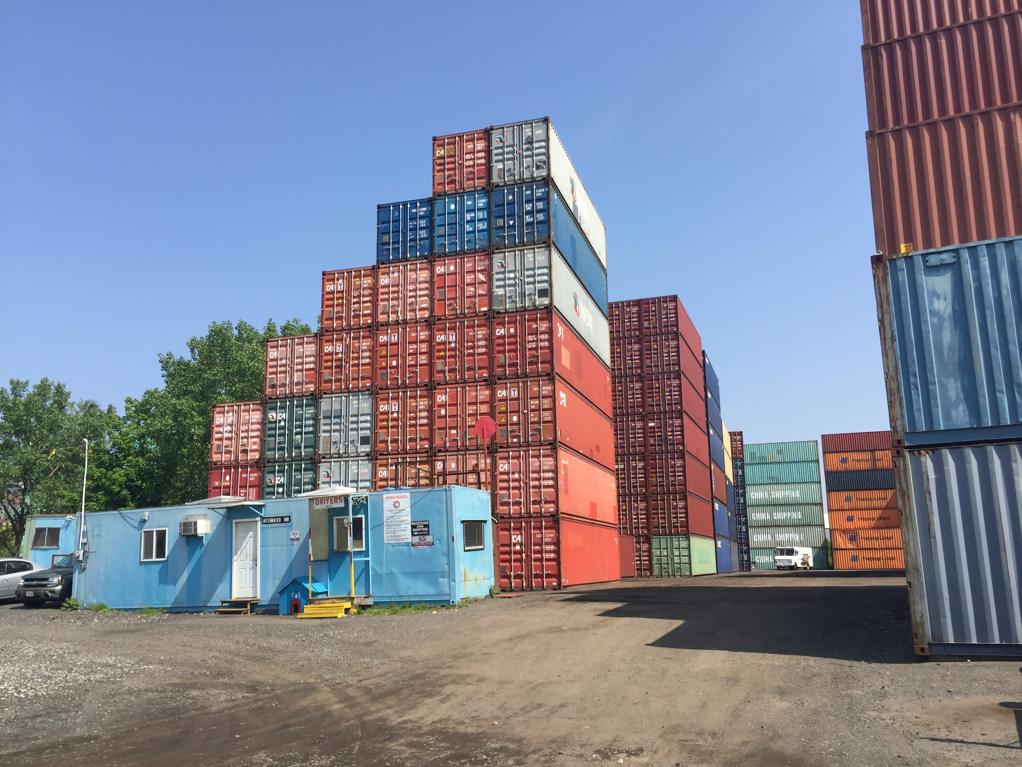 Integrated Industries, Shipping Container Storage Facility, Old Bridge, NJ