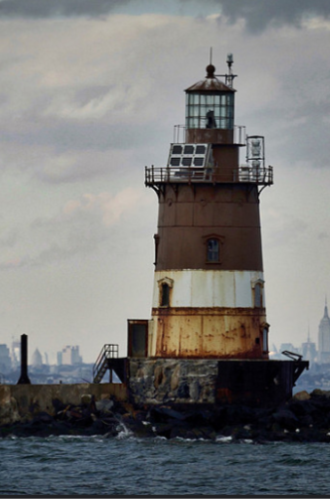 Romer Shoal Lighthouse Rehabilitation, Lower New York Bay